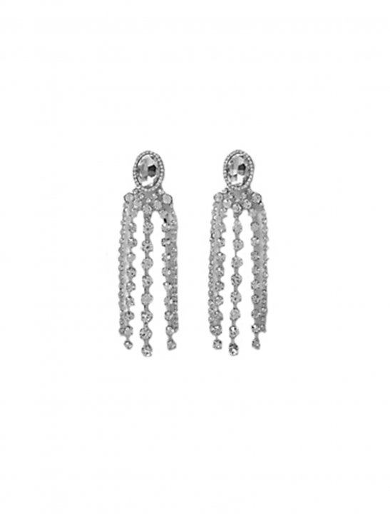 Diamante Jewel Dangle Earrings - Camila Cabello