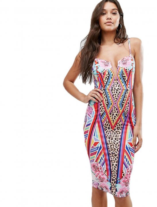 Midi Bodycon Dress - Camila Cabello