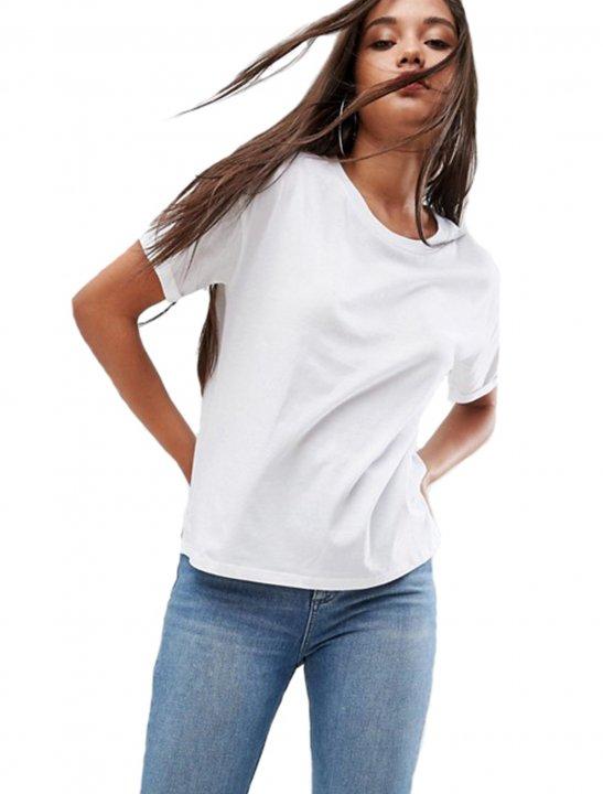 White Boxy T-Shirt - Camila Cabello