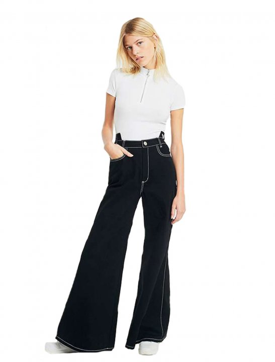 Flared Stitch Trousers - First Aid Kit