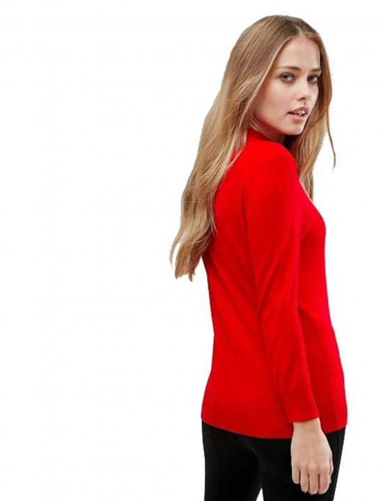 Funnel Neck Jumper - First Aid Kit