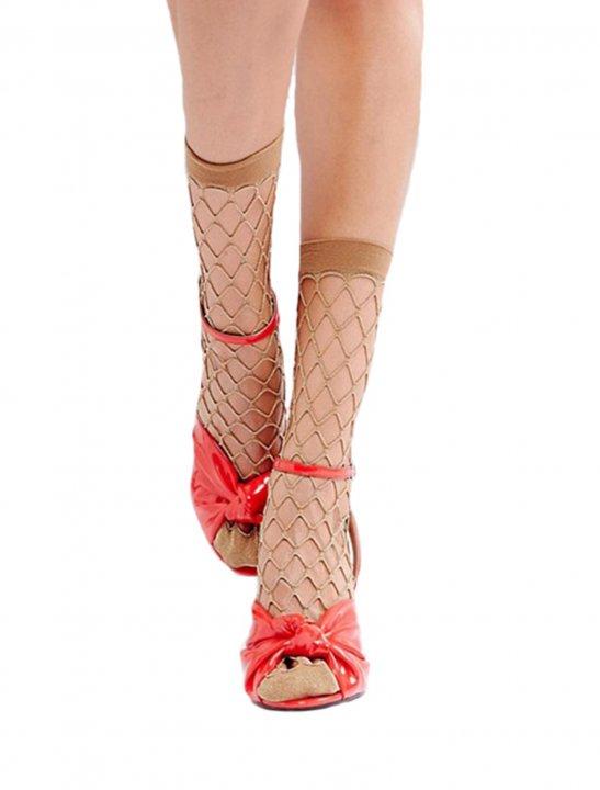 Glitter Fishnet Socks - N.E.R.D & Rihanna