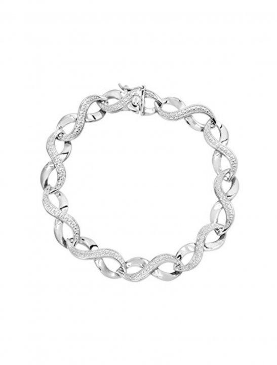 Link Bracelet with Diamond - Jennifer Lopez