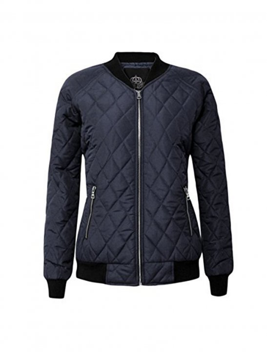Quilted Bomber Jacket - Au/Ra