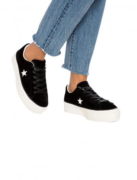 Converse One Star Platform Ox Shoes Converse