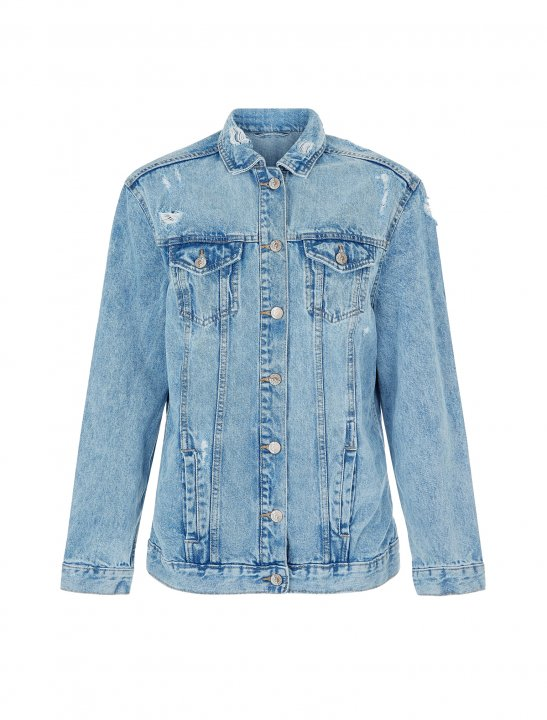 Oversized Denim Jacket - Bea Miller