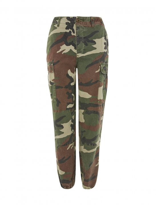 Combat Camo Trousers - Bea Miller