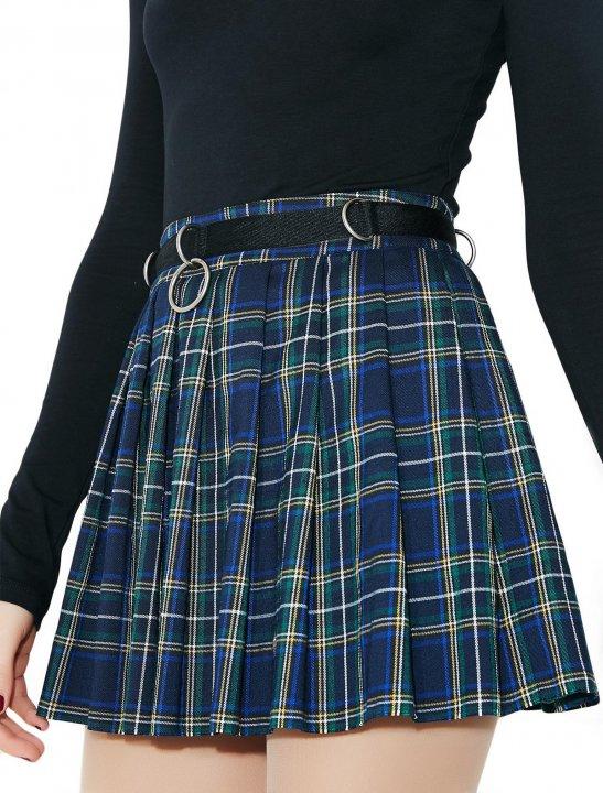Dress Code Plaid Skirt - Olivia Noelle