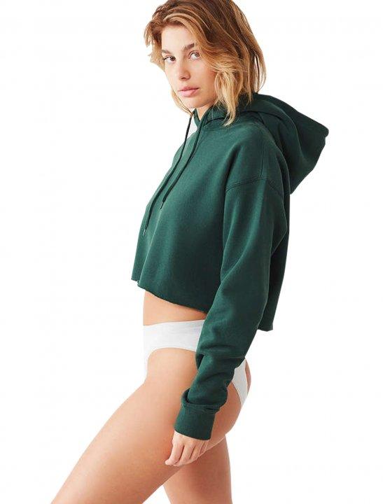 Cropped Hoodie Sweatshirt Clothing Urban Oufiiter