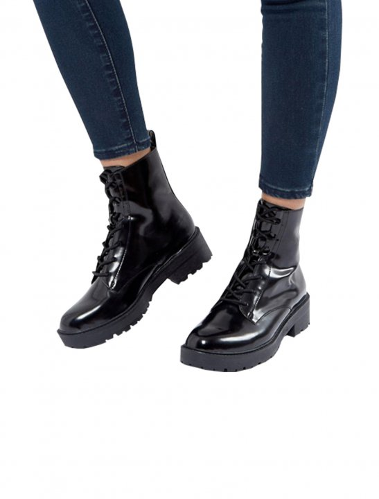 Lace Up Boot - Olivia Noelle