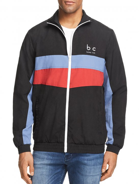 Block Stripe Track Jacket - Louis Tomlinson