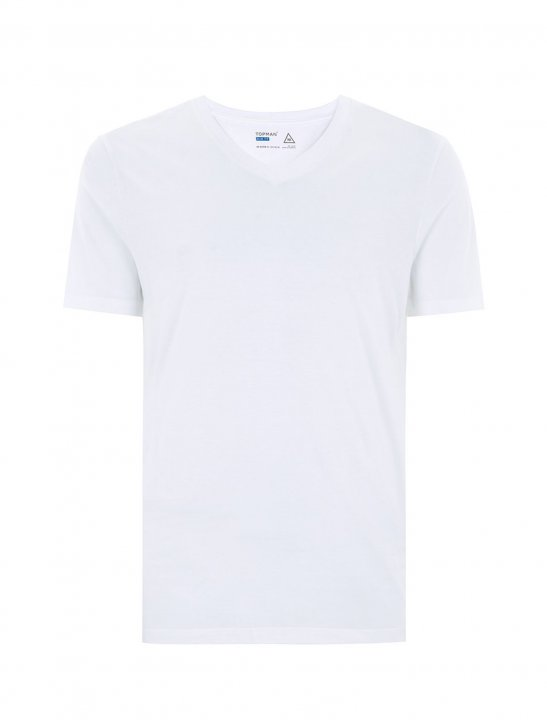 White Slim T-Shirt - MØ