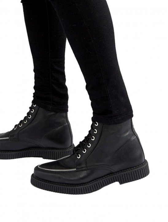 Lace Up Creeper Boots Shoes Asos