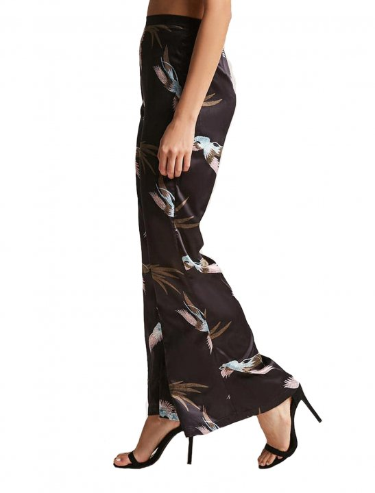 Satin Flare Trousers Clothing Forever21