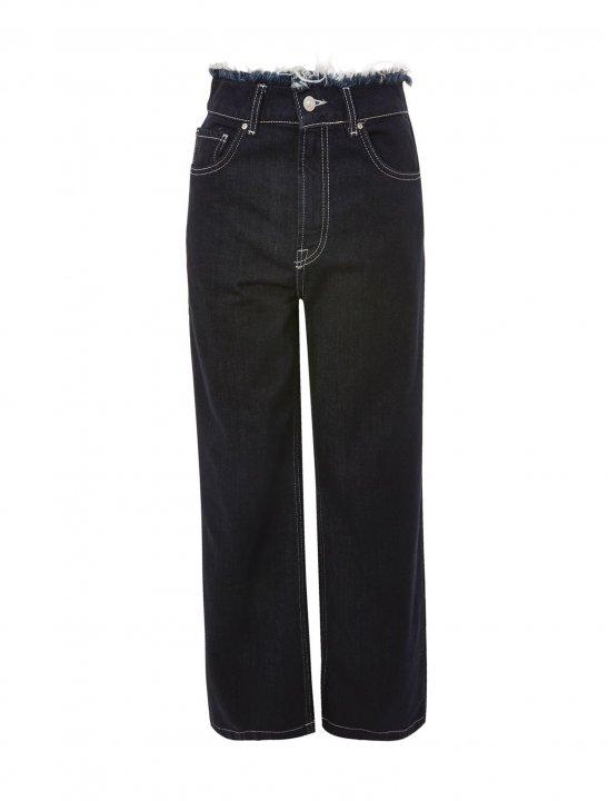 Full Length Wide Leg Jeans - Lauren Jauregui x Steve Aoki