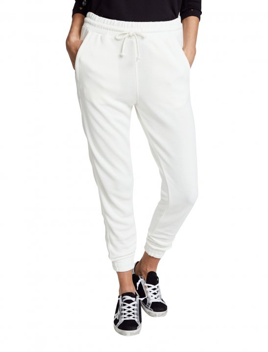 White Jogger Clothing Free People