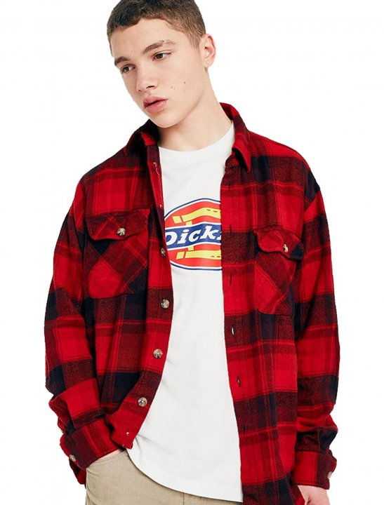 Overdyed Flannel Shirt - Justin Timberlake