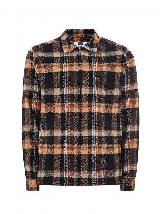 Zip Through Check Shirt - Justin Timberlake