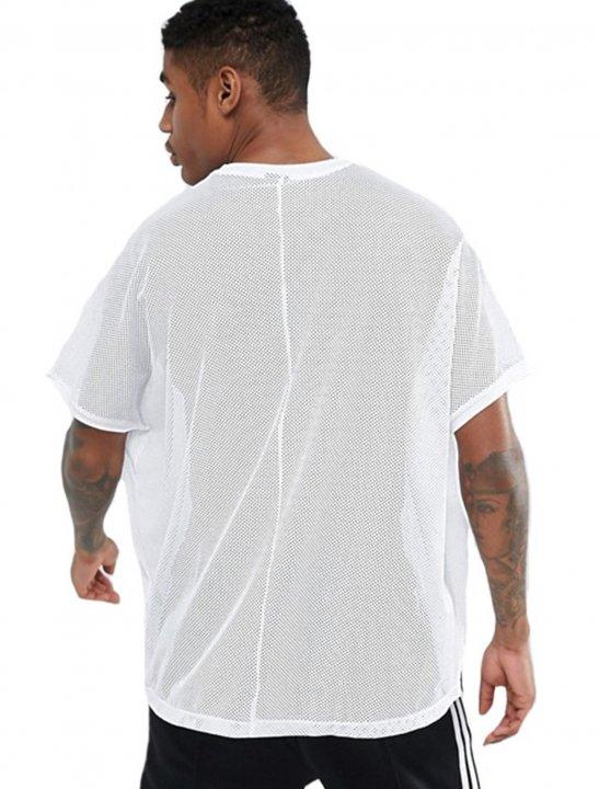 Asos Mesh T-Shirt Clothing Asos