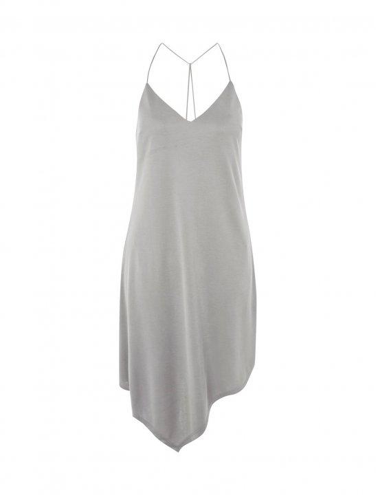 Asymmetric Hem Slip Dress - Bea Miller