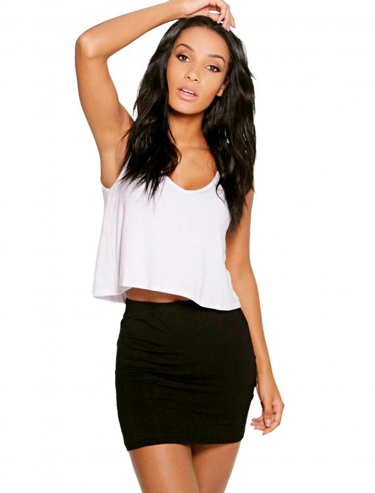 Jersey Mini Skirt - Bea Miller