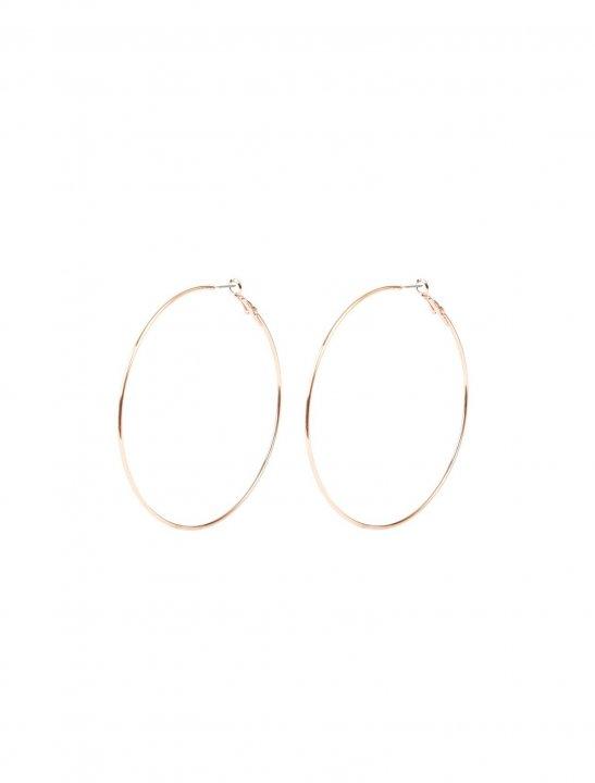 Skinny Hoop Earrings - Bea Miller