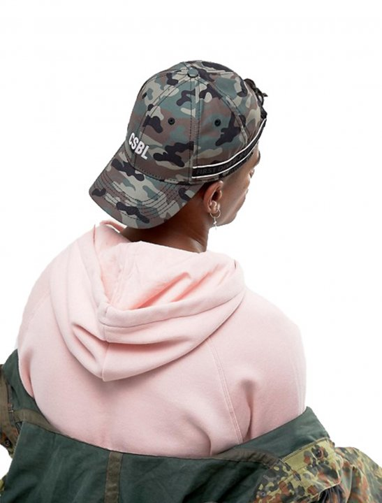 Baseball Cap In Camo - Lady Leshurr