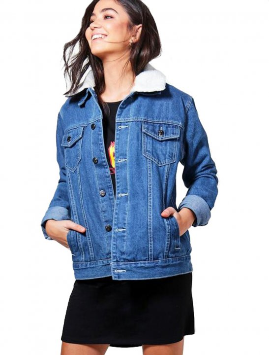 Oversize Denim Jacket - Grace VanderWaal