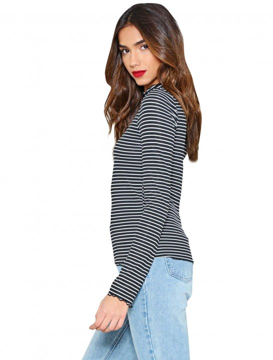 It'll Be All Stripe Top Clothing Nastygal
