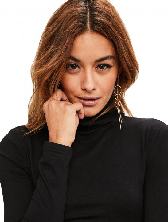 Roll Neck Dress Clothing Missguided