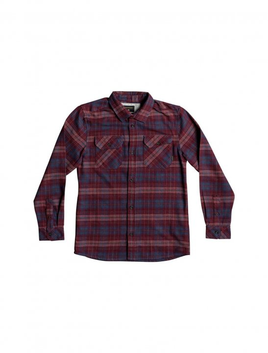 Plaid Flannel Shirt Clothing Quiksilver