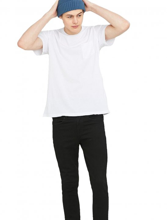 White Basic T-Shirt Clothing Urban Outfitters