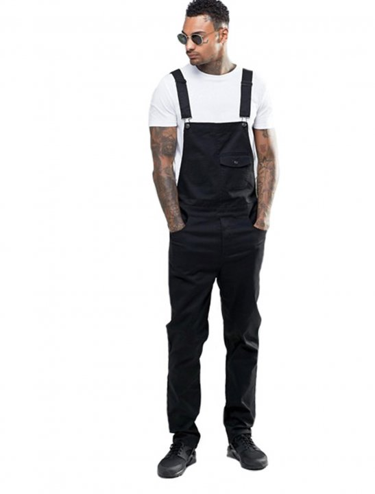 Dungarees In Black - Not3s