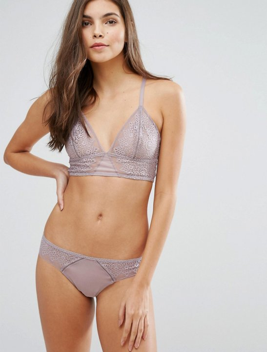 Excite Unlined Triangle Bra Clothing Calvin Klein
