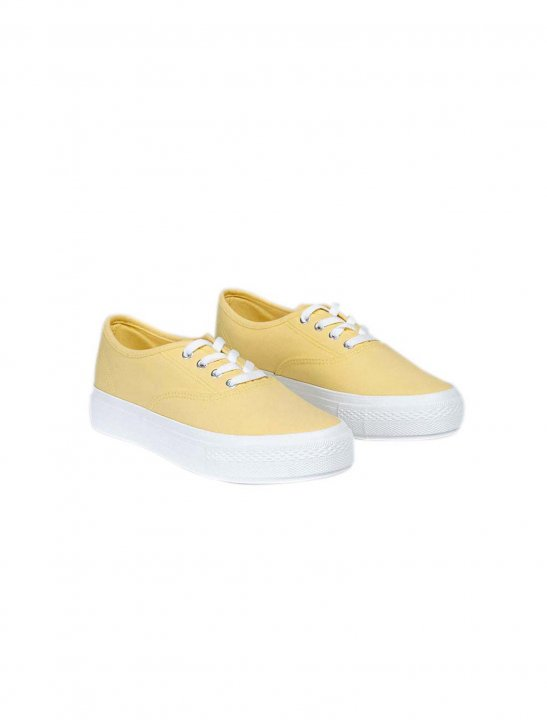 Low-Top Canvas Sneakers - Sigala, Paloma Faith