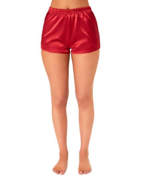 Red Satin Shorts - Sigala, Paloma Faith