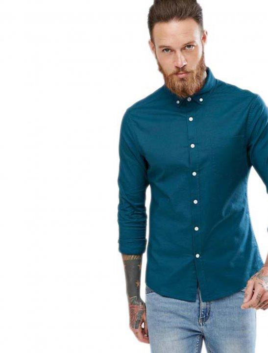 Casual Skinny Oxford Shirt - Sigala, Paloma Faith
