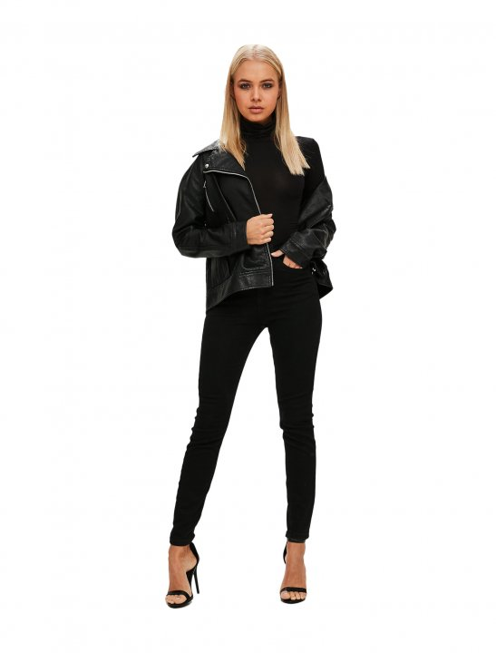 Funnel Neck Bodysuit Clothing Missguided