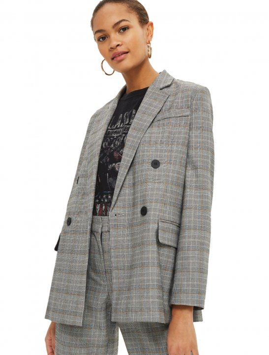 Topshop Double Breasted Jacket - Yxng Bane