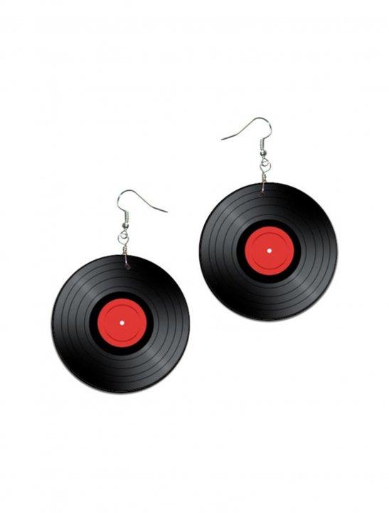 Vinyl Record Earrings - Meghan Trainor