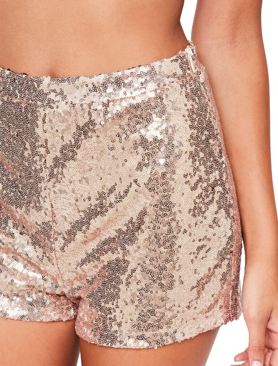Missguided Sequin Shorts Clothing Missguided