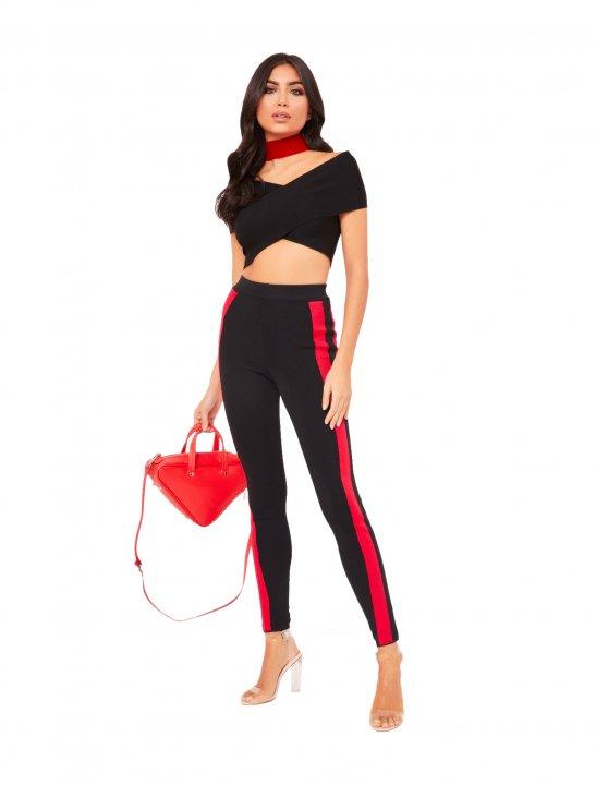 Misspap Side Stripe Trousers - Not3s