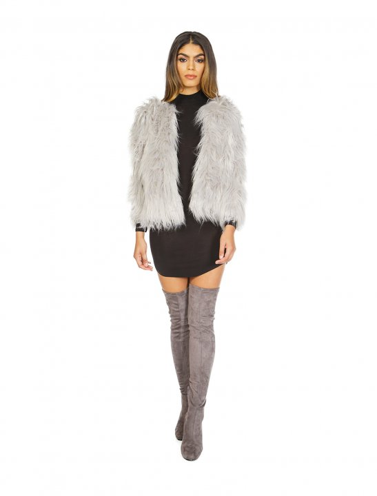 Misspap Shaggy Jacket Clothing Misspap