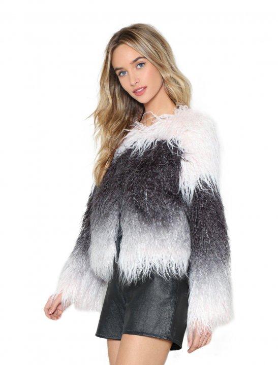 Nasty Gal Faux Fur Coat Clothing Nasty Gal