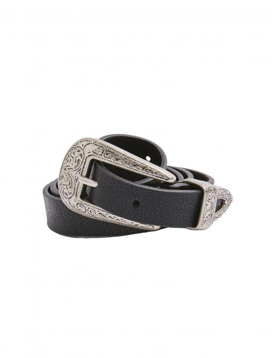 Topshop Double Buckle Belt Accessories Topshop