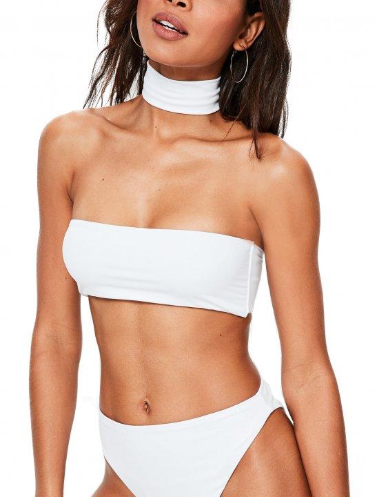 Missguided White Bikini Set - Zayn