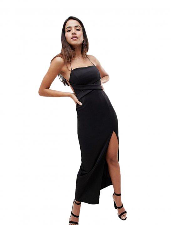 Asos Strappy Maxi Dress - Zayn