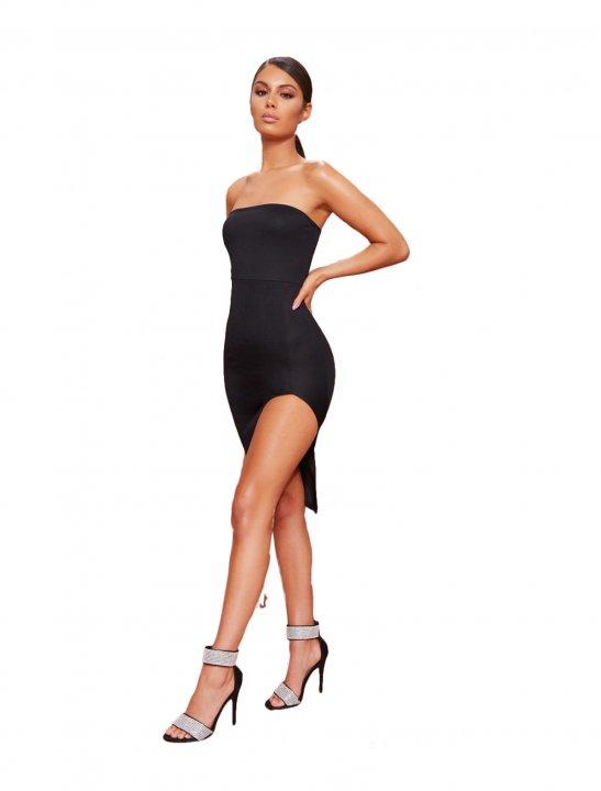 PLT Split Front Dress - Zayn