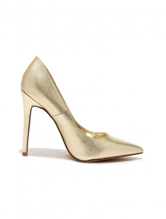 Lulus Gold Pumps - Zayn