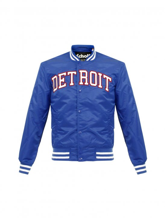 Schott NYC Blue Bomber Jacket Clothing Schott NYC